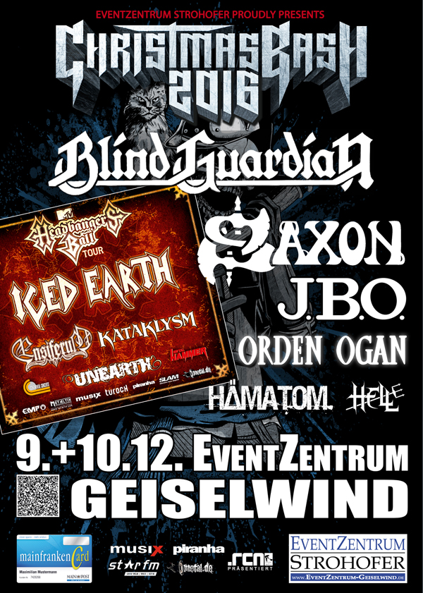 Christmas Bash 09.+10.12.2016 in Geiselwind