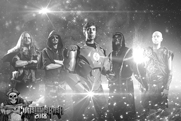 Christmas Bash 2018 - Eventzentrum Strohofer Geiselwind - Gloryhammer